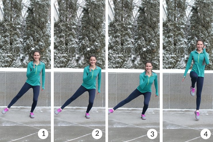 Balance and agility side lunges will get your quads burning instantly!