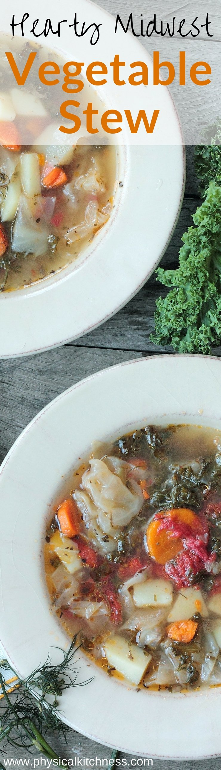 The absolute BEST vegetable stew you'll ever taste. The proof is in the broth! Super easy and whole30 complaint! Your next go-to comfort style soup!