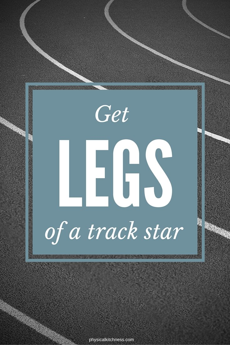Want toned, sculpted, strong legs? Try this Legs of a Track Star workout for the best way to get the legs of your dreams!