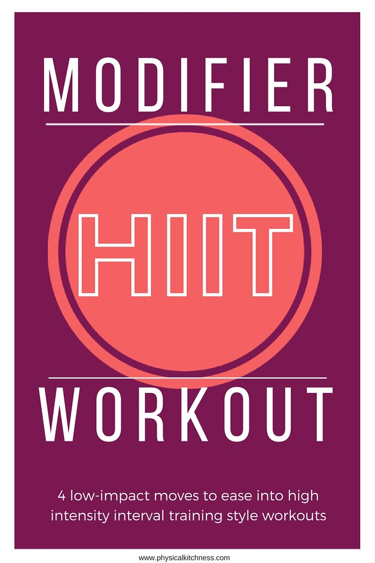 New to HIIT workouts? Try these 4 low-impact moves to get you started and build up your stamina for high intense interval training!