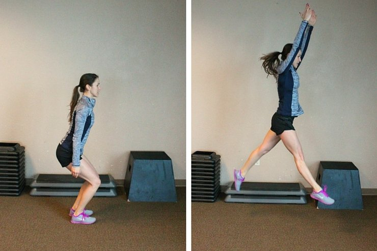 Side runners are an amazing leg circuit. You must try this 'legs of a track star' workout!