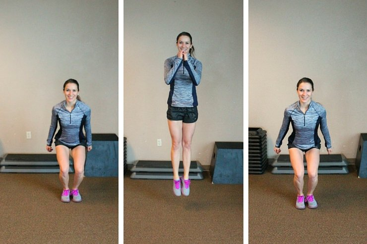 Feel the burn with these ski squats and get the legs you've always dreamed of!