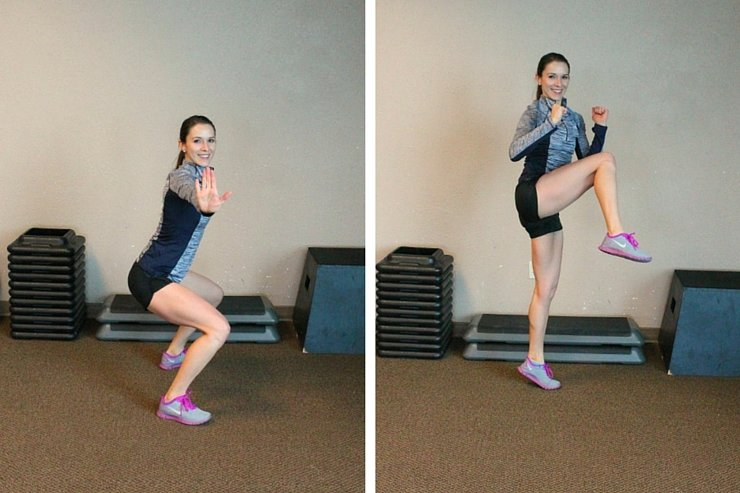 Work your buns, obliques and thighs to get the ultimate lower body plyo workout!