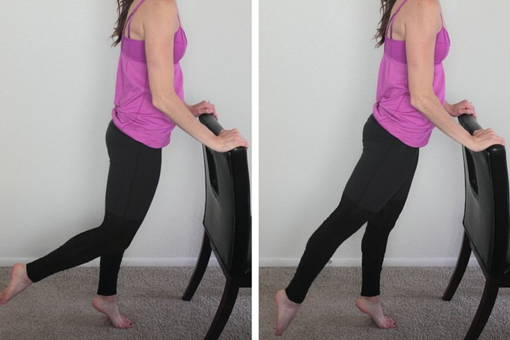 Barre Booty Home Workout - Bend Extensions