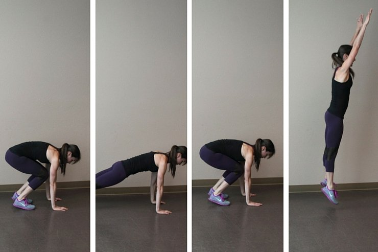 Insanity Inspired Workout - Burpees