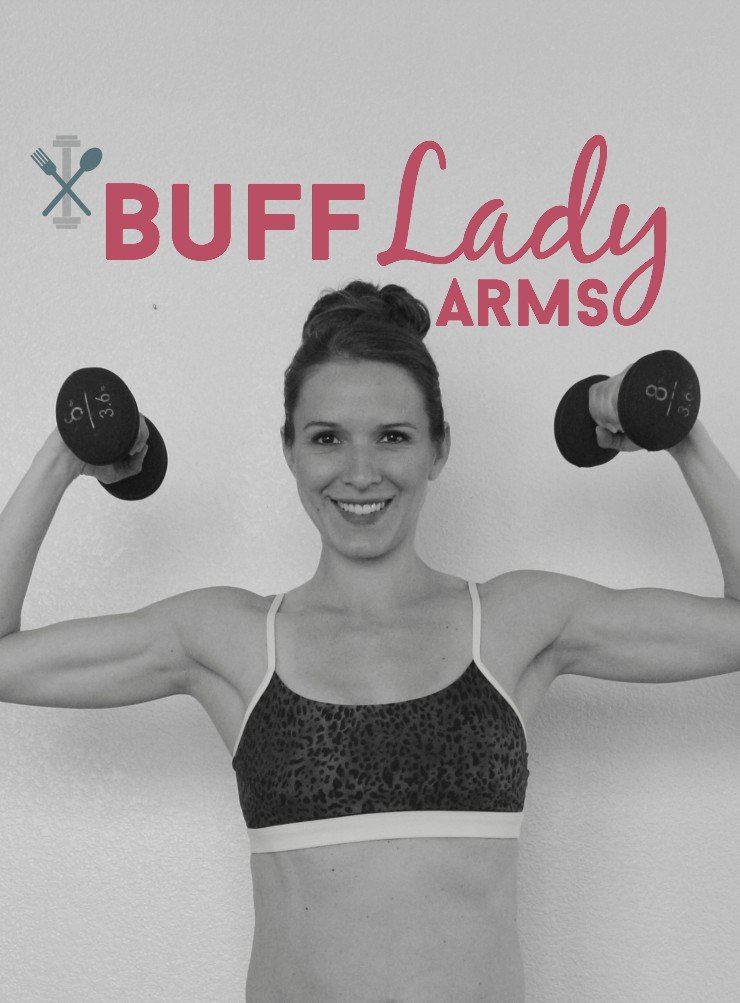 This upper body arm workout is amazing for getting those buff lady arms you've always wanted!