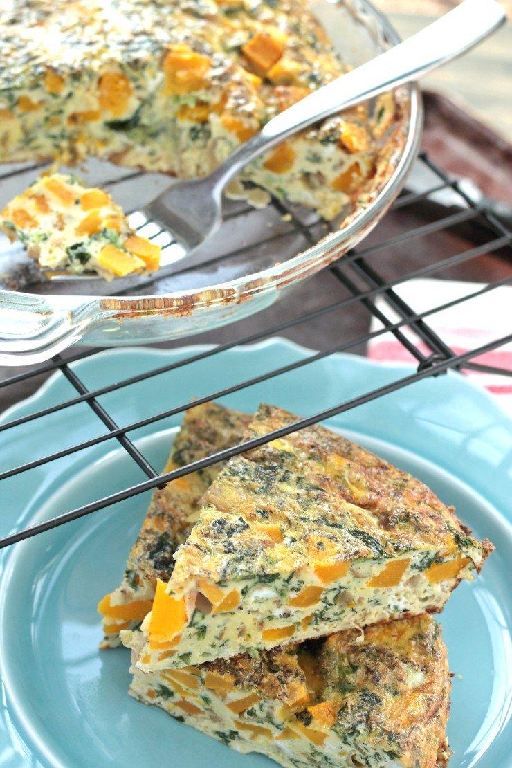 recipe: butternut squash crust quiche [17]