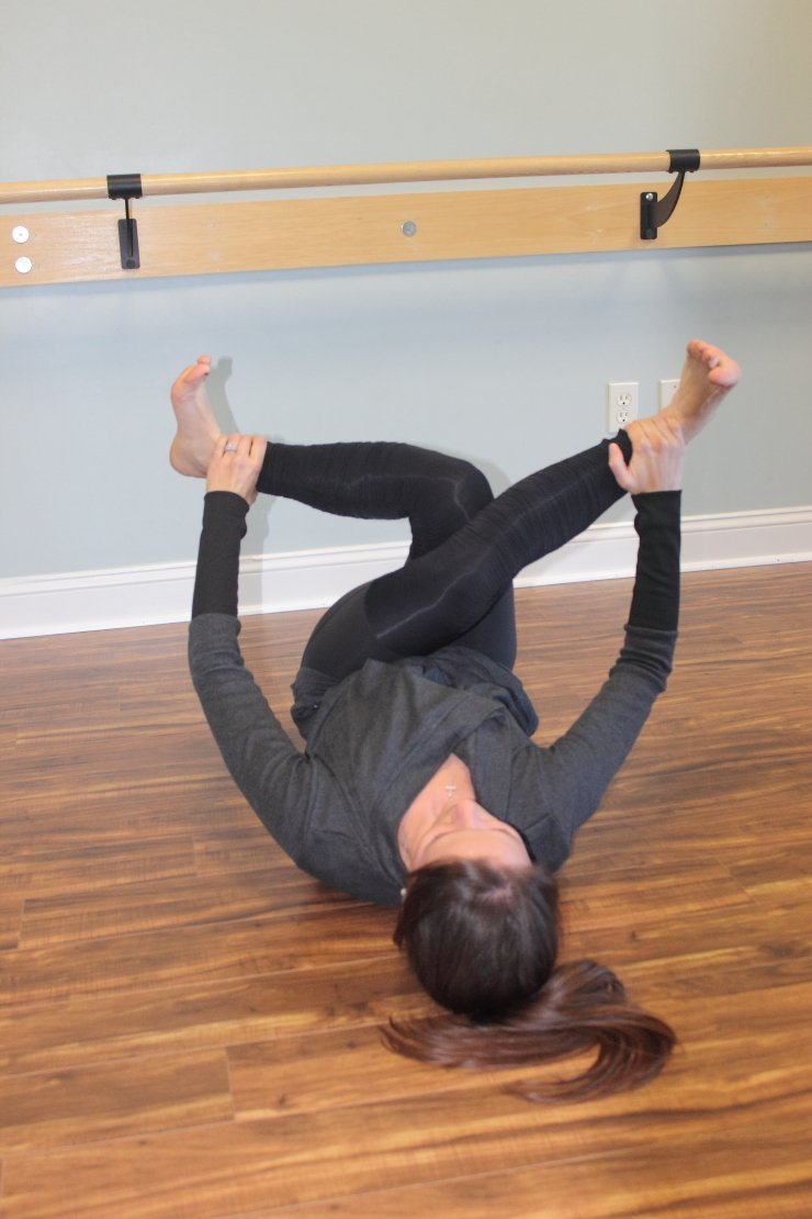 A great stretch after the ultimate saddlebag workout. You MUST check this out!