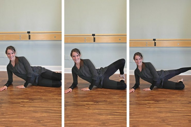 Clamshell lifts to say 'see ya' to saddlebags! A workout to target those saddlebag problem areas.