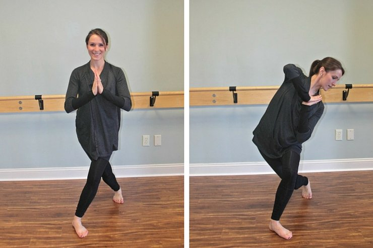 Curtsy lunges to say 'see ya' to saddlebags!