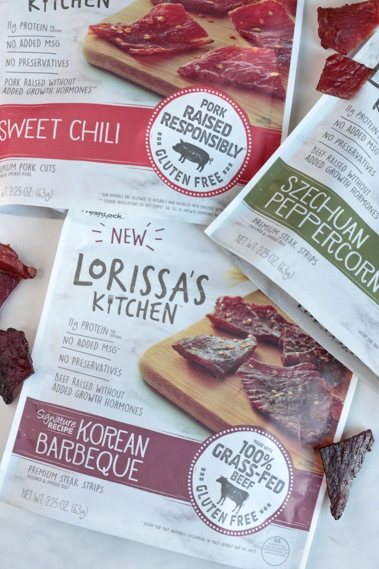 Lorissa's Kitchen Grass-Fed, Gluten-Free Steak Strips