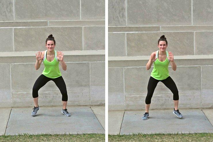 Summer Bikini Workout Series Part 2 - Cardio Blast. Wide quick feet