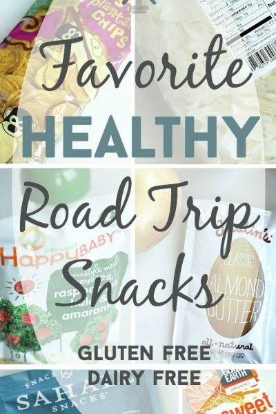 Favorite Healthy Road Trip Snacks