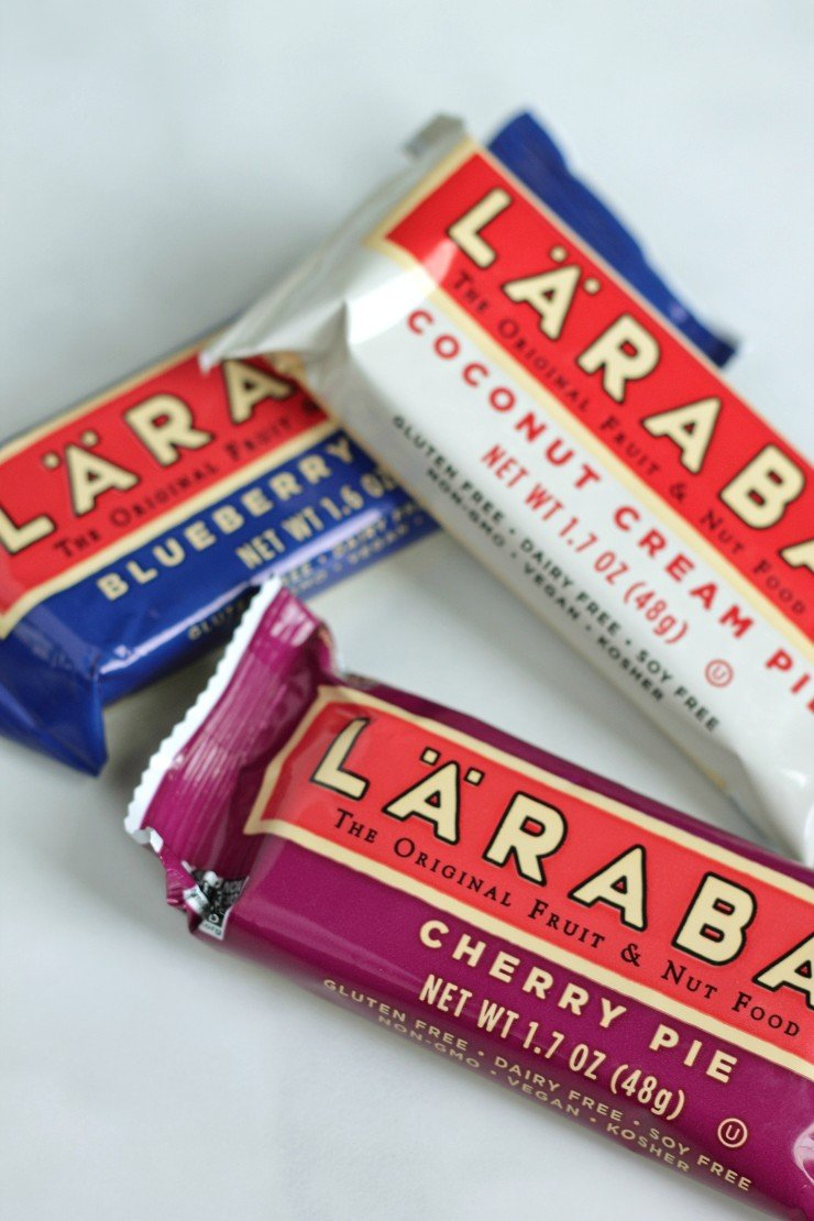 Larabars are one of best paleo, whole30, and vegan road trip snacks out there!