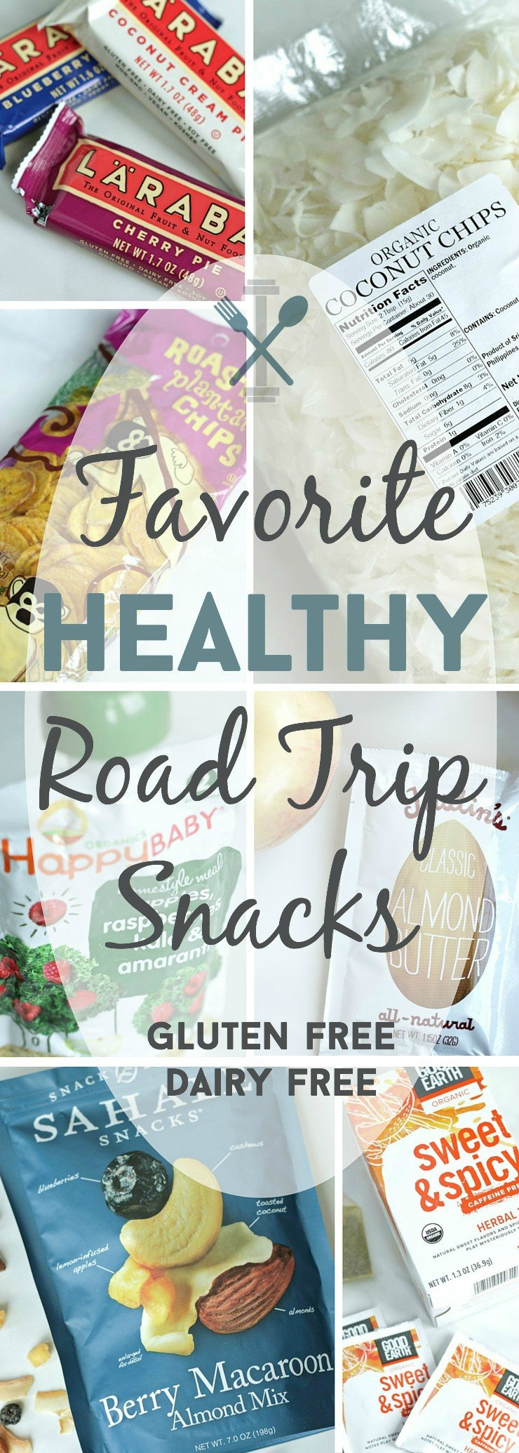 The ultimate gluten-free, dairy-free, and vegan list for healthy road trip snacks!