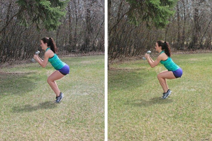 Summer Bikini Workout Series Part 3 - Lower Body. Balance leg pulses