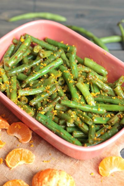 Mandarin Orange Green Beans