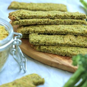 "Paleo Broccoli ""Cheese"" Sticks"