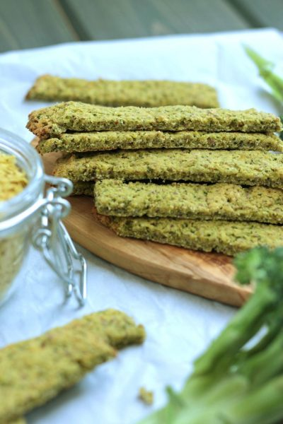 "Paleo Broccoli ""Cheese"" Sticks"