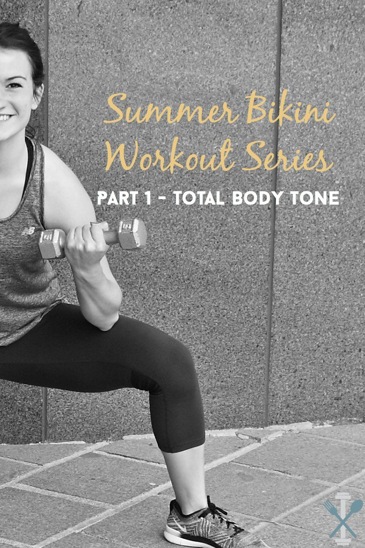 This summer bikini workout series is the first of FOUR total sculpting, calorie burning workouts to get you in top shape for bikini season!
