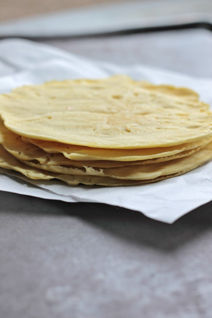 Paleo crepes have never been easier. Make these 30 second crepes in the microwave for the easiest, tastiest breakfast or dessert ever.