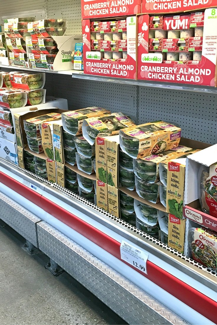 Costco ElevAate Portable Salads. Healthy, Easy, and Tasty!