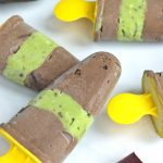 Super healthy, ultra decadent, DELICIOUS creme de menthe avocado fudgsicles are the ultimate summer treat that adults and kids will love!
