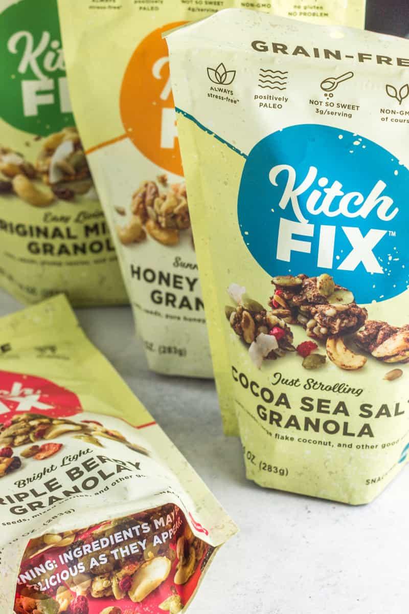 Grain Free Paleo Granola