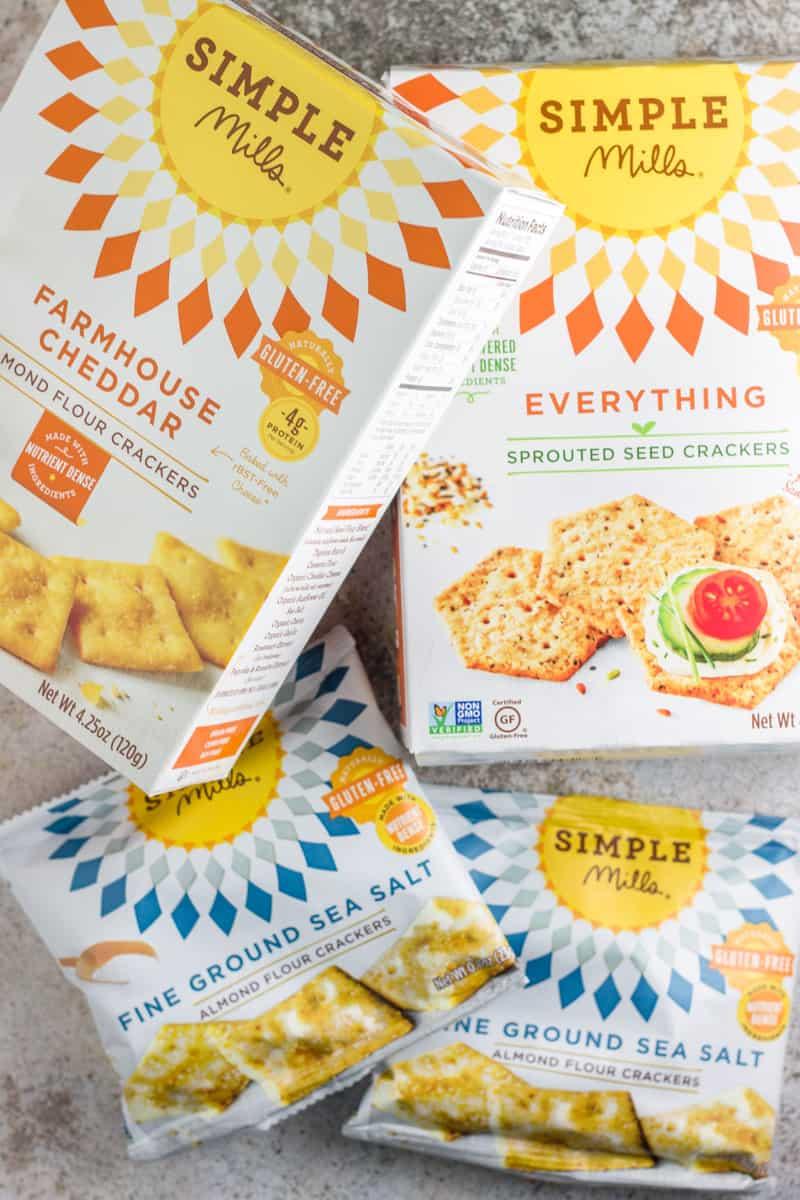 Healthy Gluten Free Road Trip Snacks Grain Free Crackers