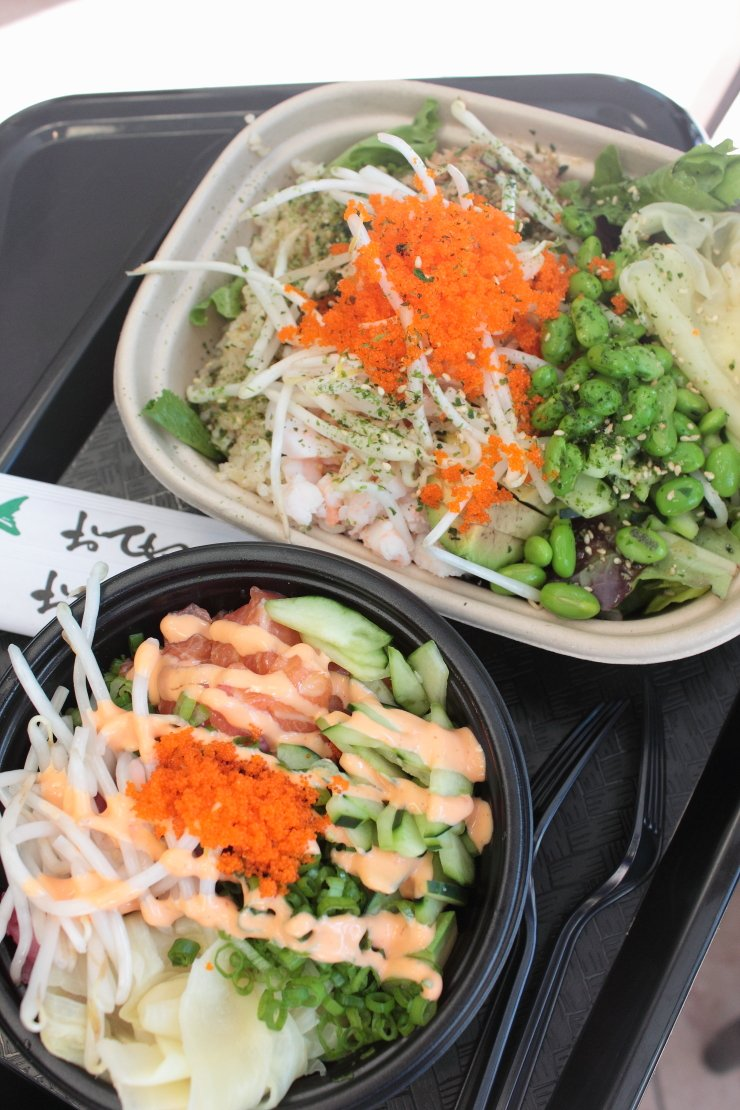 If you want a cheap eat in Monterey, CA that is delicious and healthy, you MUST try Poke Lab for their amazing sushi bowls!