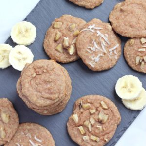 Paleo Banana Cream Pie Cookies