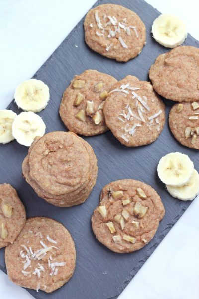 Paleo Banana Cream Pie Cookies