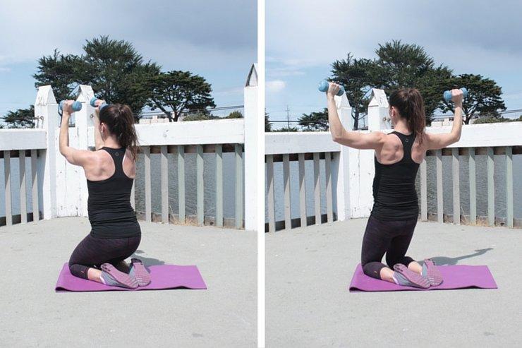 Quad and Shoulder Scorcher - Press Backs