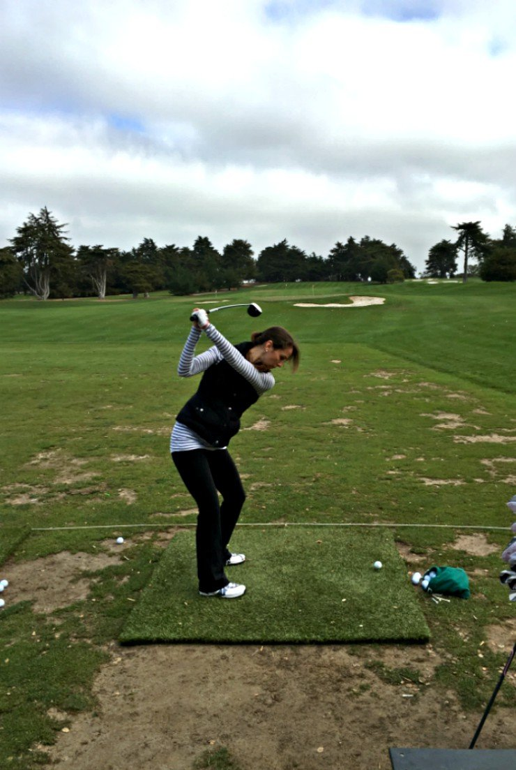 Monterey, California has some amazing golf courses to play or just hit balls on the range!