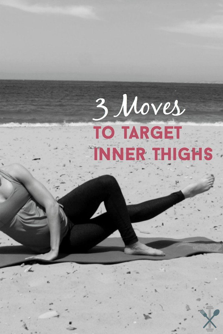 These 3 moves are the best for targeting inner thighs. Low impact and easy to do anywhere, anytime!