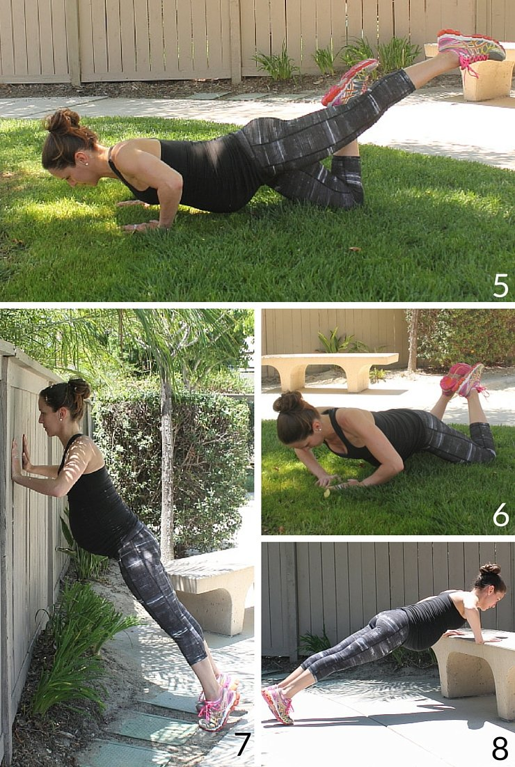8 Ways to Modify Pushups: #5-#8