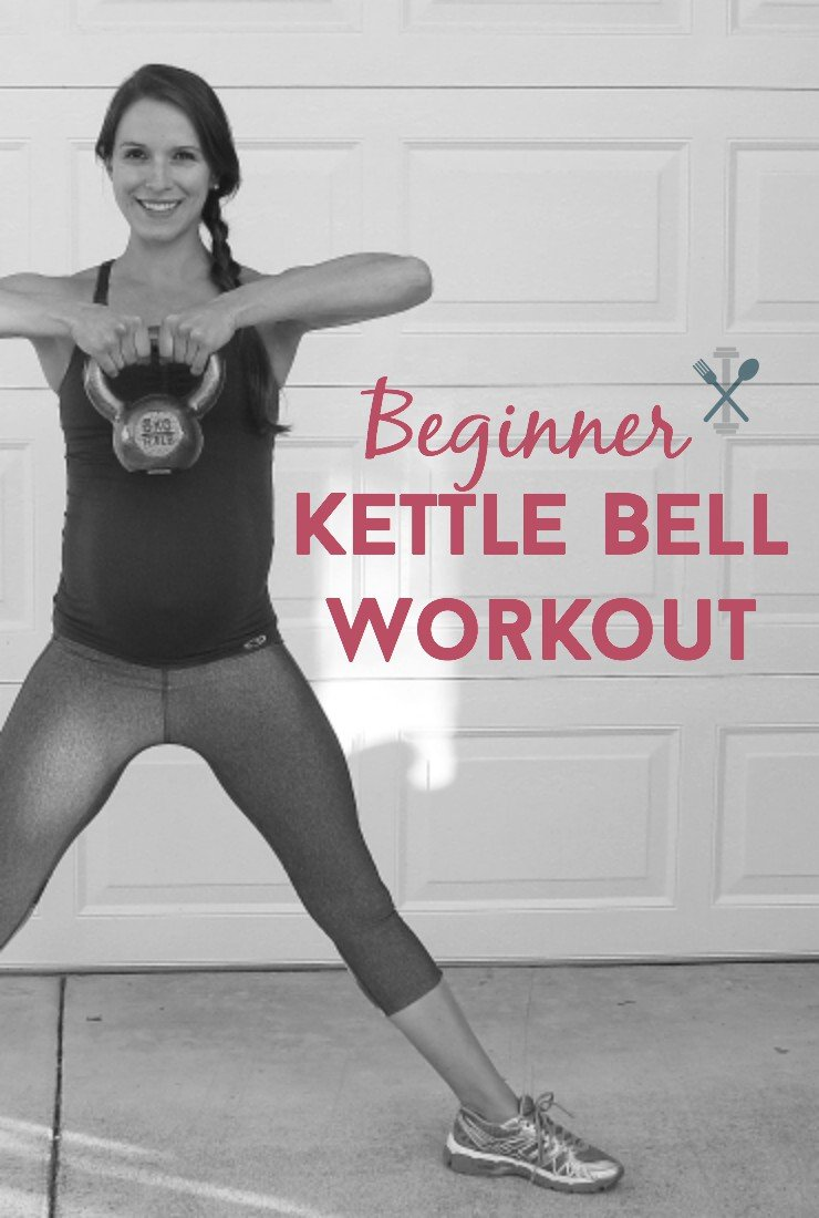 This kettle bell workout is perfect for beginners. Compounded movements with easy to follow instructions will help you fall in love with kettle bell workouts!