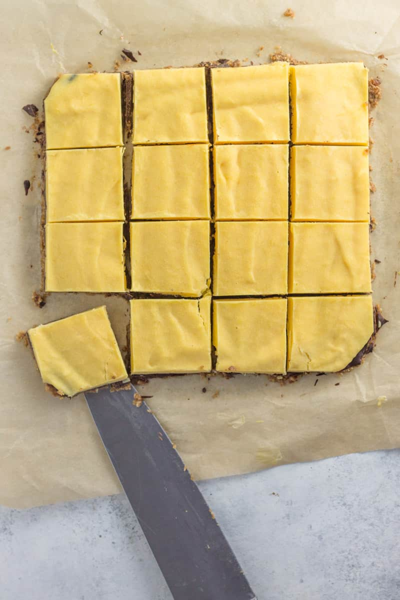 chilled mango bars healthy