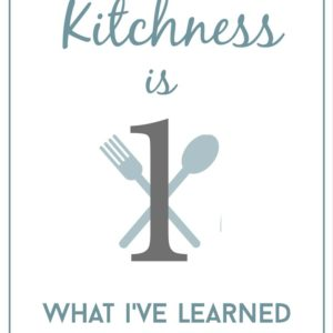 Physical Kitchness One Year Blogiversary!