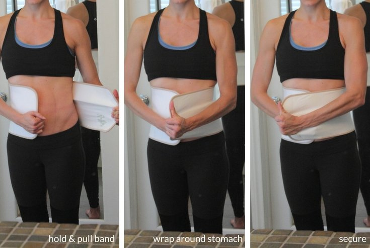 Using the Belly Bandit postpartum wrap helped me to heal my diastasis recti after pregnancy. Read more about my journey and proper exercises to heal your abs here. #sponsored