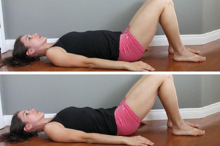 Healing Diastasis Recti - pelvic tilts