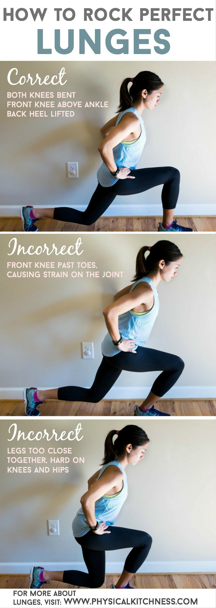 LUNGES: a how-to guide for correct form sculpt your bottom half with amazing lunges