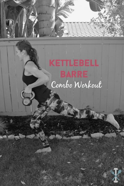 Kettlebell Barre Combo Workout