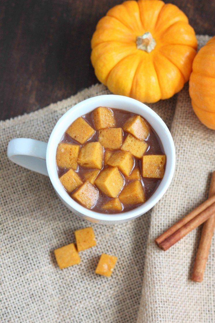 Paleo pumpkin marshmallows - making coffee or hot chocolate a dream!!