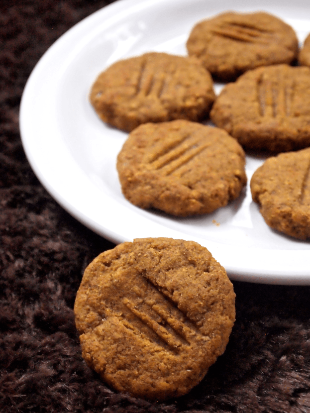 pumpkin pound cake cookie