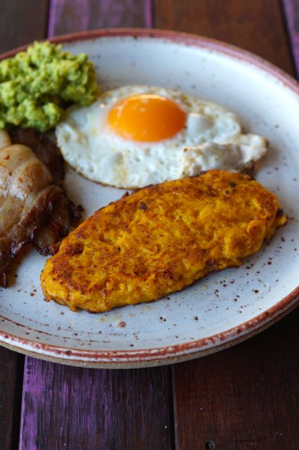 paleo pumpkin hash browns