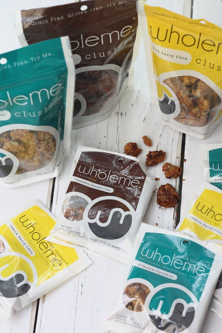 Wholeme Granola - a healthy and unique holiday food gift!