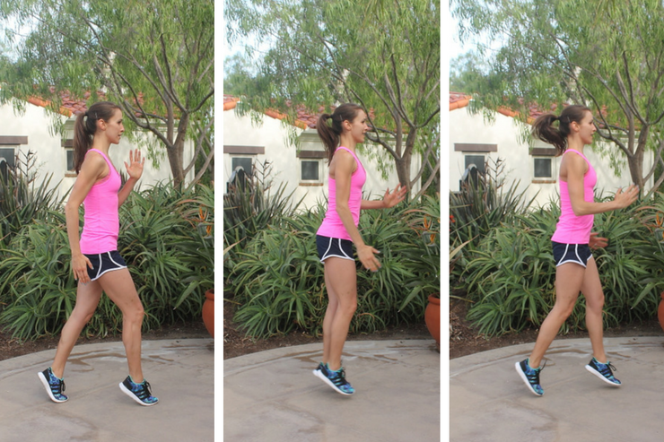 Lower Body Cardio Tabata - Scissor Runs