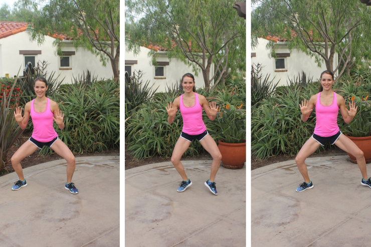 Lower Body Cardio Tabata - Side Shuffles