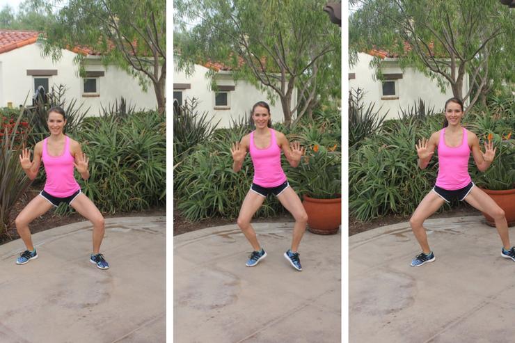 Lower Body Cardio Tabata - Side Shuffles